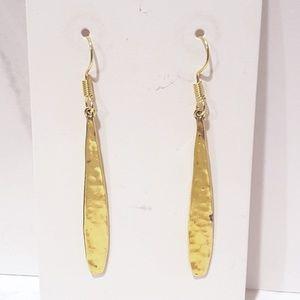 Gold Minimalist Teardrop - Drop Earrings